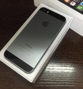 iPhone 5s 16Gb Space Gray б/у
