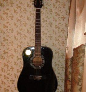 Гитара martinez 12 струнная
