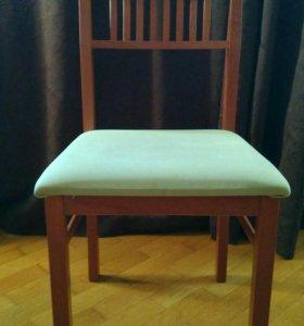 6 стульев б/у, на перетяжку