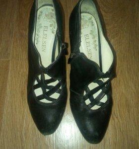 Кожаные туфли Elelsen