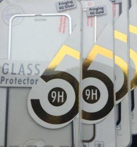 3D стекла на IPhone 6/6s с окантовкой