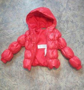 куртка удлиненная на 3-3,5 года