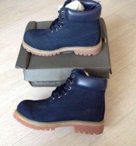 Женские зимние ботинки Тимбы
