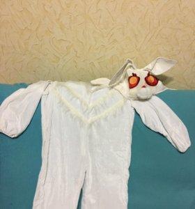 Продам новогодний костюм зайчика