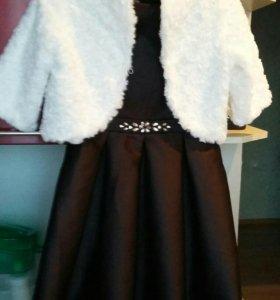 Детское платье с балеро