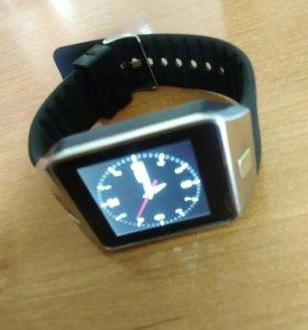 Часы-телефон DZ09