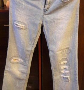 новые джинсы р. 44