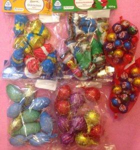 🇪🇺🎄Детские шоколадные игрушки на ёлку