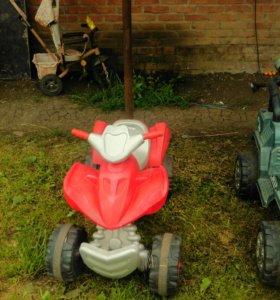 Квадроцикл электрический детский