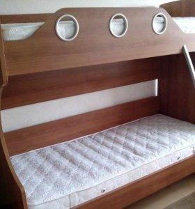 Двухъярусная кровать от фабрики Шатура