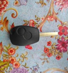 Запасной новый ключ для Рено