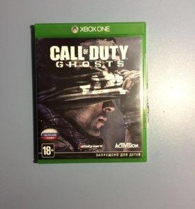 Продам игру call of duty GHOST на xbox one
