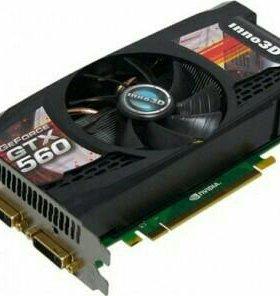 Видеокарта Inno3d Gtx 560