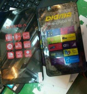 Планшеты новые Digma Supra 4Good