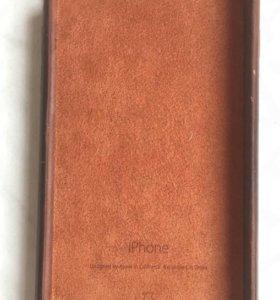 Чехол кожаный для iPhone 6, 6S оригинал бу