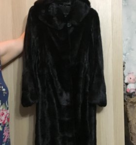 Норковое пальто