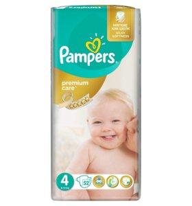 ДОСТАВКА / PAMPERS Premium Сare р. 4