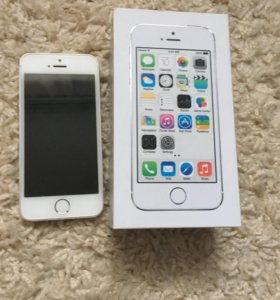 iPhone 5s , silver,32 GB