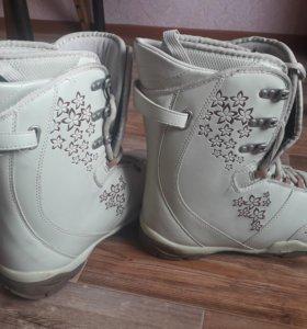 Ботинки для сноуборда 40-41Р