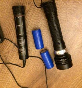 Подводный фонарь для дайвинга MJ-850