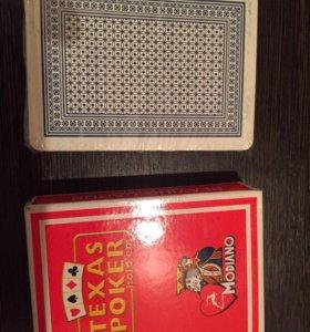 Карты для покера.
