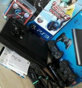 PlayStation 3 500GB+Move+Camera+GT5 (CECH-4208C)