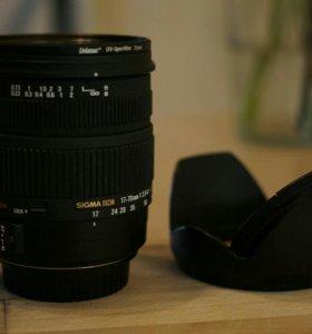 Sigma 17-70 2.8-4 canon