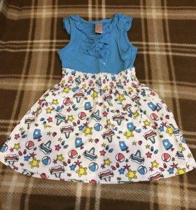 Модное красивое платье новое , 92