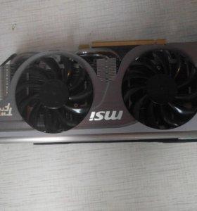 Видеокарта N560GTX-TI TWIN FROZR II 2GD/5OC