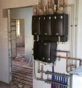 Монтаж отопления водоснабжения канализации