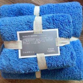 Набор плюшевых полотенец