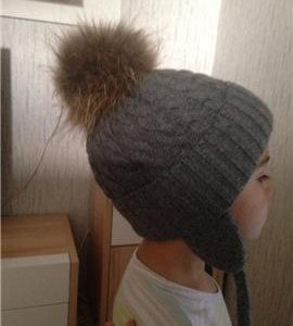 Зимняя шапка Шторм и К