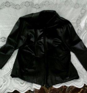 Куртка кожонная.