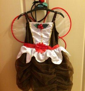 Новогоднее платье Gymboree