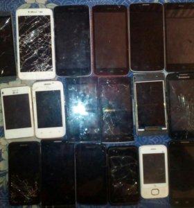 Сотовые телефоны разные