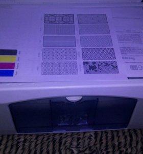 HP 3в1 принтер сканер копир