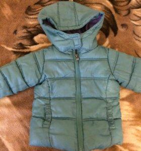 Куртка для девочки 86-92