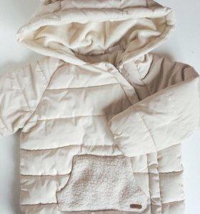Куртка zara 86-92