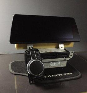 NBT evo Touch Display на BMW G30 с установкой