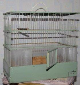 Клетка металлическая для птиц