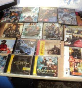 компьютерные диски с играми