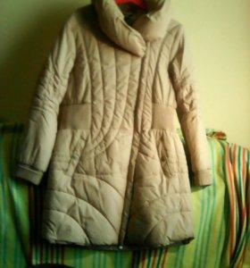 Пальто на синтепоне р48-50