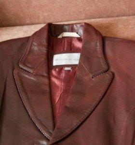 Новое кожаное пальто (френч)