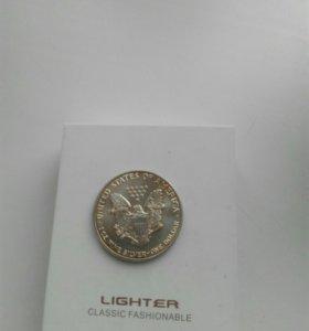 1 доллар 2017 Шагающая Свобода, серебро 999