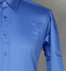 Рубашка (Мужская, Синяя)