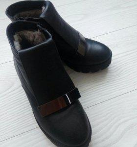 Женские зимние ботинки 36р