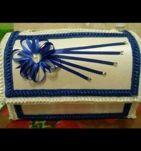 Сундучек для даров на свадьбу