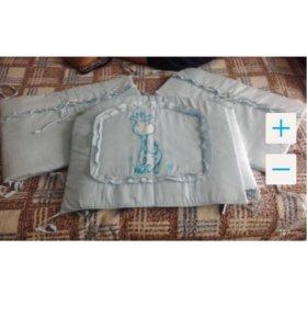 Продам бортики для детской кровати