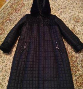 Пальто зимнее, размер 54