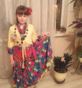Новогодний костюм цыганка